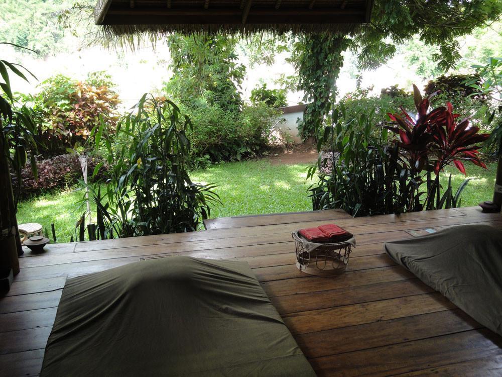 Massage hut