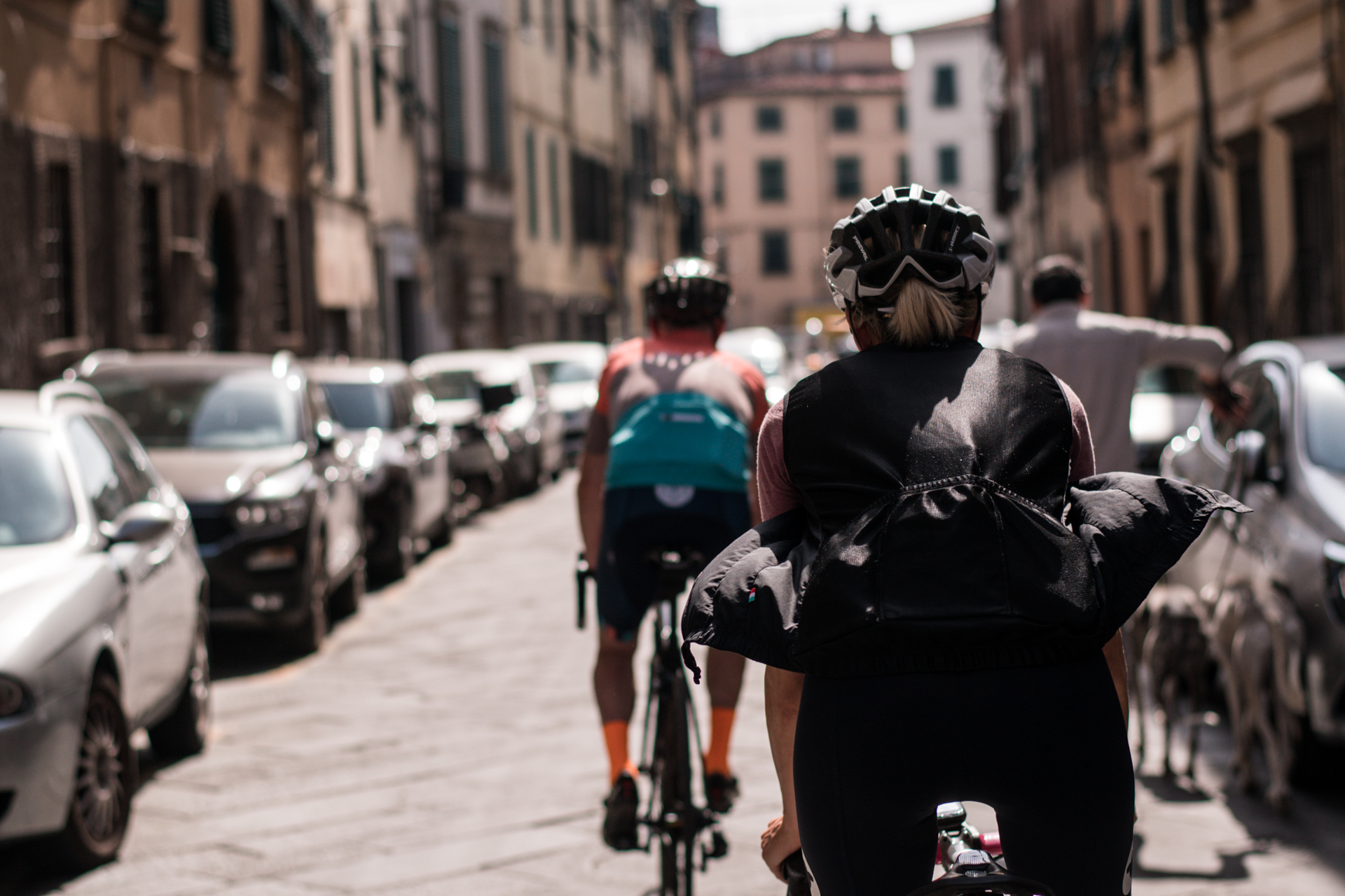 cycling and yoga lucca
