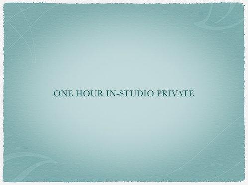 One Hour In Studio Private