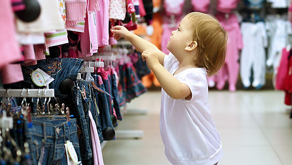 Детская одежда - заманчивые покупки