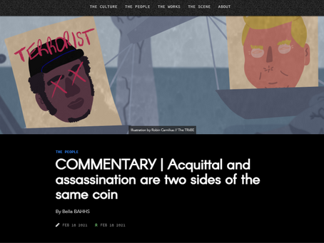 THE PEOPLE COMMENTARY | Acquittal and assassination are two sides of the same coin