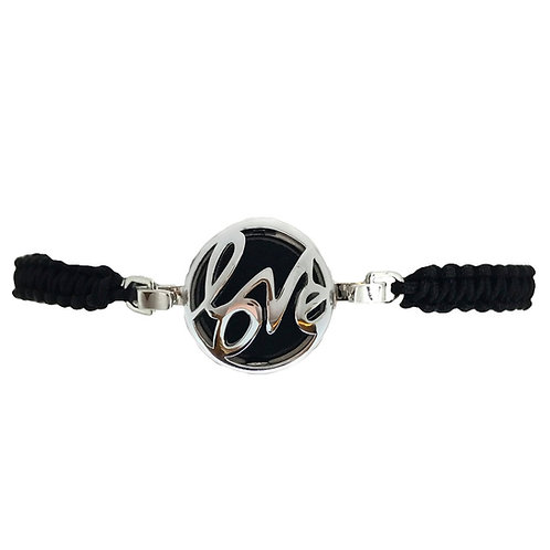 Love White Gold Diffuser Bracelet