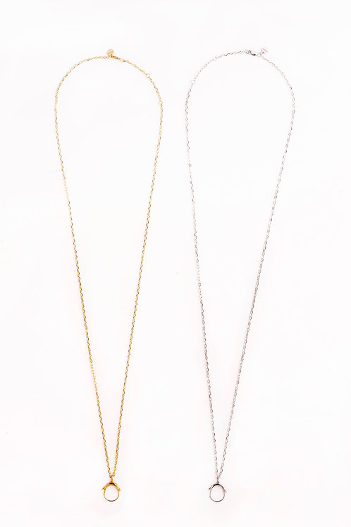 """Long Chain with clasp 30"""""""