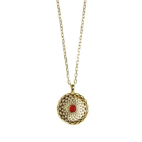 Lotus Diffuser Necklace
