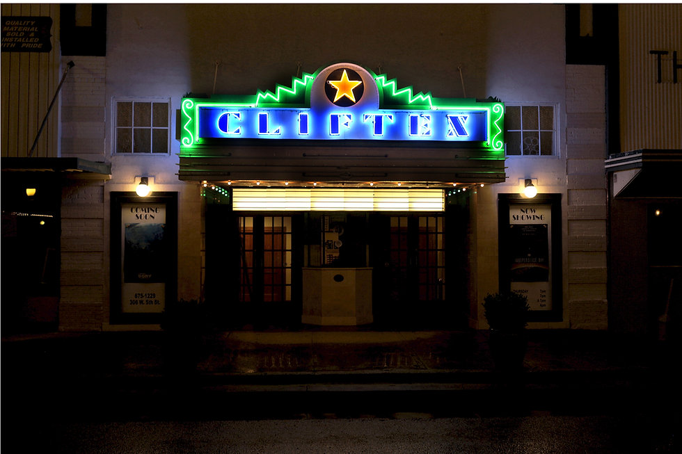 The Cliftex Movie Theatre