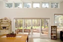 North facing windows