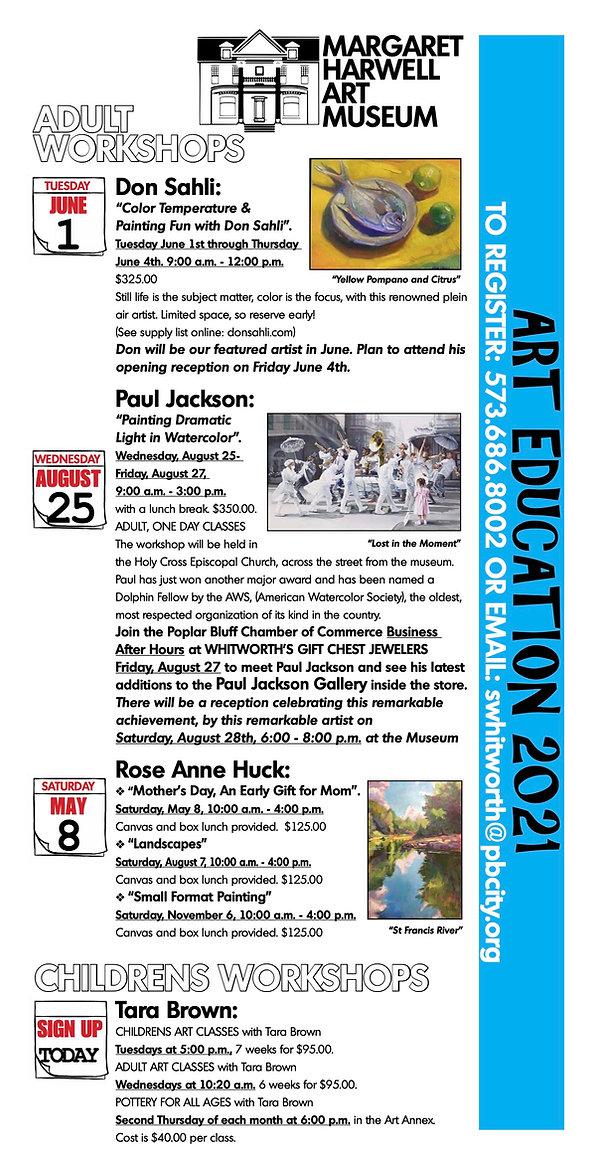 Art Education Mailer SAVED FOR STEVE WHI
