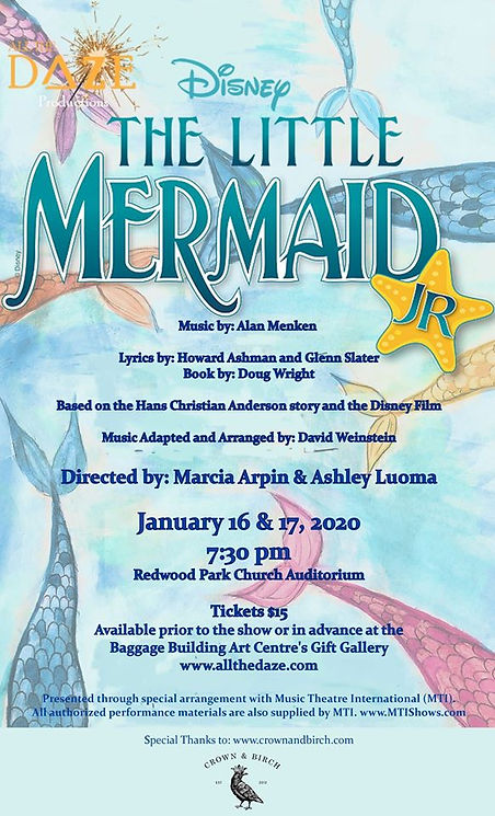 youth theatre - little mermaid
