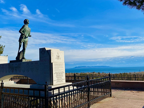 Terry Fox Monument - February 2021