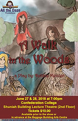 youth theatre - a walk in the woods