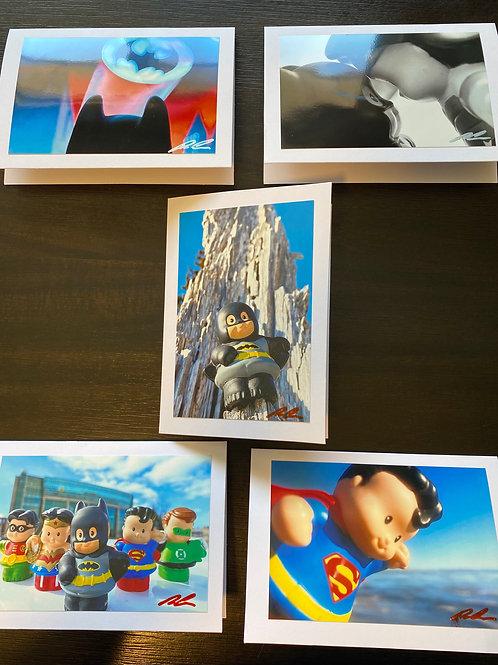 Chubby Super Friends - Gift Card Set