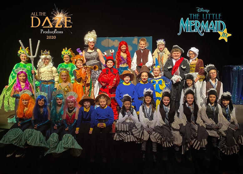 little mermaid musical all the daze productions theatre show mti
