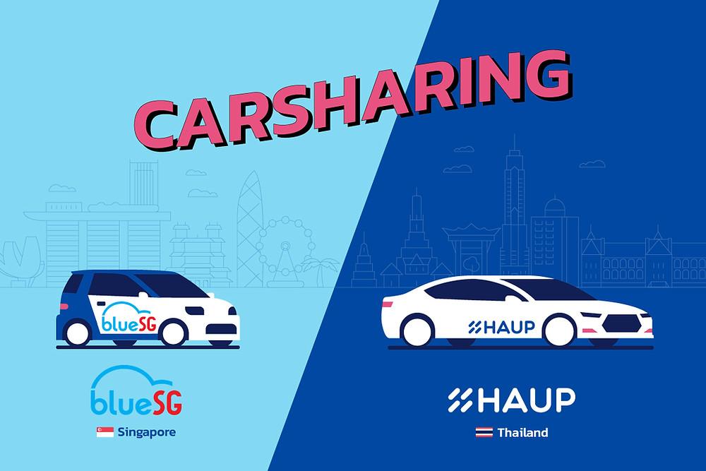 Carsharing,EVCar,รถยนต์ไฟฟ้า