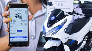 HAUP ร่วมพัฒนาแอปฯ ที่สามารถเข้าถึงการใช้งานรถจักรยานยนต์ไฟฟ้าได้อย่างสะดวกรวดเร็ว
