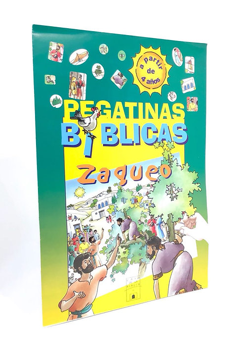 PEGATINAS BIBLICAS ZAQUEO