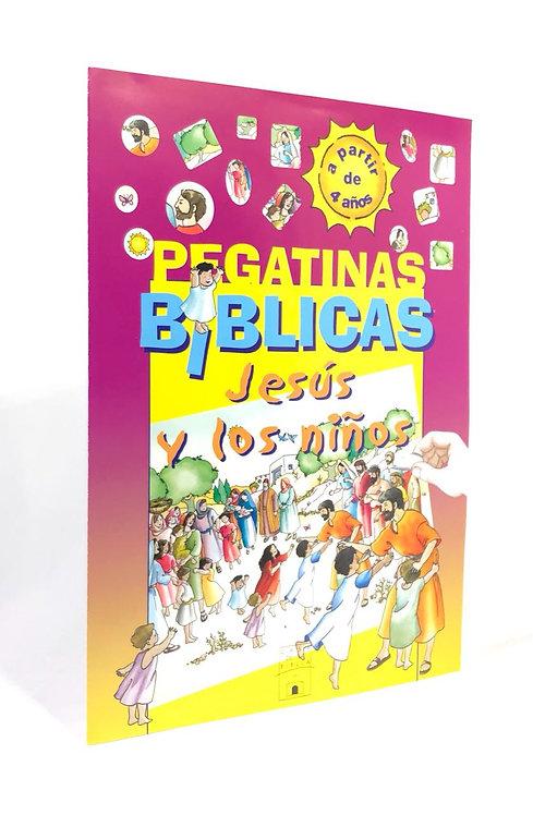 PEGATINAS BIBLIACASJESUS Y LOS NIÑOS