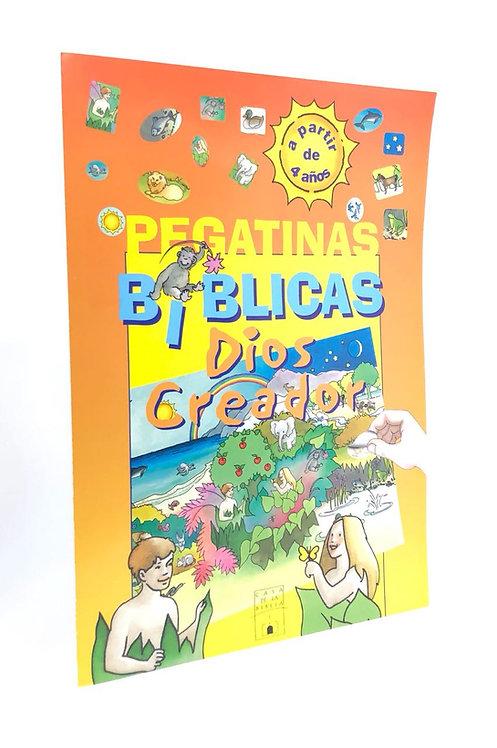 PEGATINAS BIBLICAS DIOS CREADOR