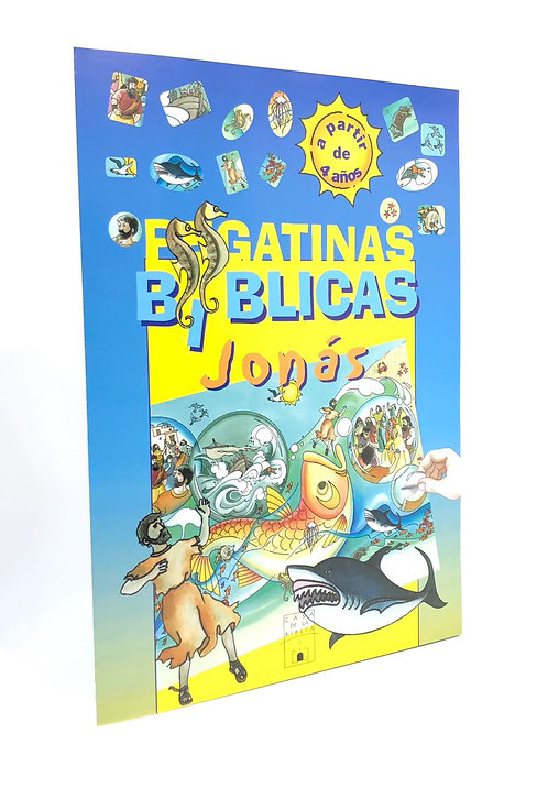 PEGATINAS BIBLICAS JONAS