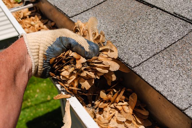 Hoe vaak moet je een dakgoot leegmaken?