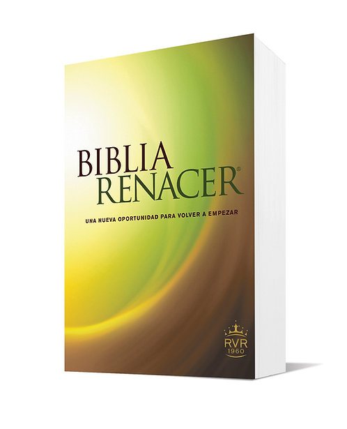 BIBLIA REINA VALERA RENACER 1960 EDICIÓN RÚSTICA