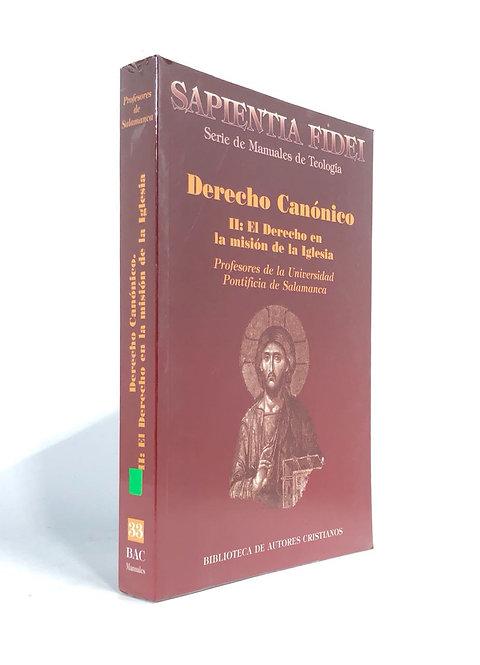 DERECHO CANONICO II