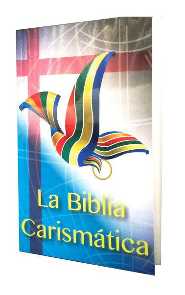 BIBLIA CARISMÁTICA,  RÚSTICA FLEXIBLE