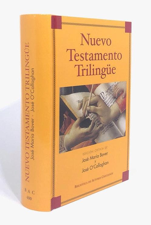 NUEVO TESTAMENTO TRILINGÜE, PASTA DURA