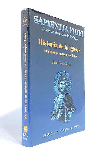 HISTORIA DE LA IGLESIA IV