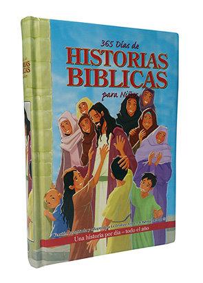 365 DÍAS DE HISTORIAS BÍBLICAS, TAPA DURA