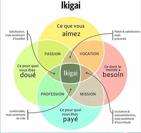 Accompagnement thérapeutique à la reconversion professionnelle: ikigai accompagnement
