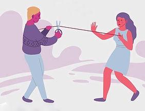 Couper lien relation toxique Deuil dépendance affective relation toxique Elisa Erin Elisa Therapie Coaching Hypnothérapeute et énergéticienne Hypnose et soins énergétiques