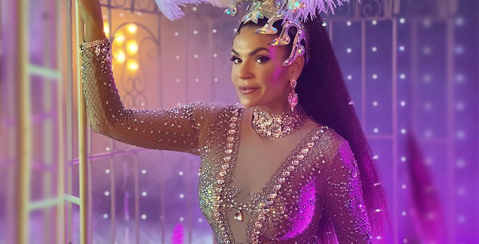 Diamantové šaty Madame Nicole