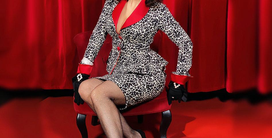Kostýmek Leopard Lady