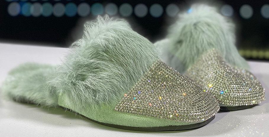 Domácí obuv Lady Glamour