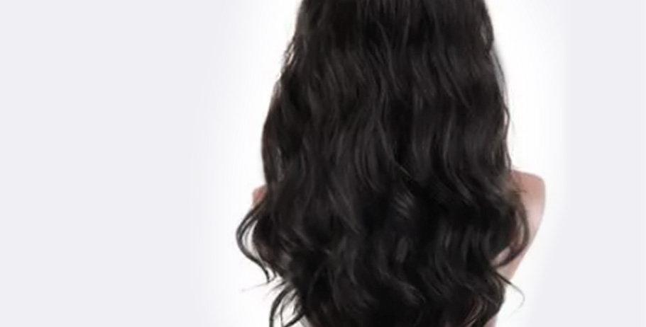 Chicago Diva - příčes z pravých vlasů  (60/70 cm)