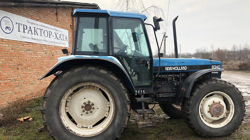New Holland 8340 SL4