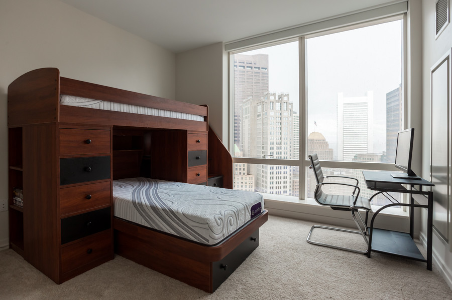 1 Franklin Street, Unit 2710 - Guest Bed