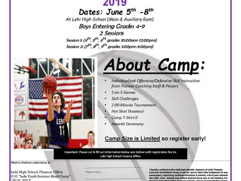 LHS Boys Summer Camp