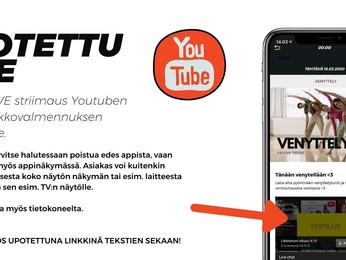 Miten luoda ja järjestää Youtube-LIVE?