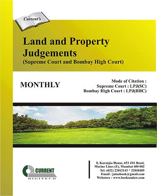 Land and Property Judgements - Supreme Court and Bombay High Court