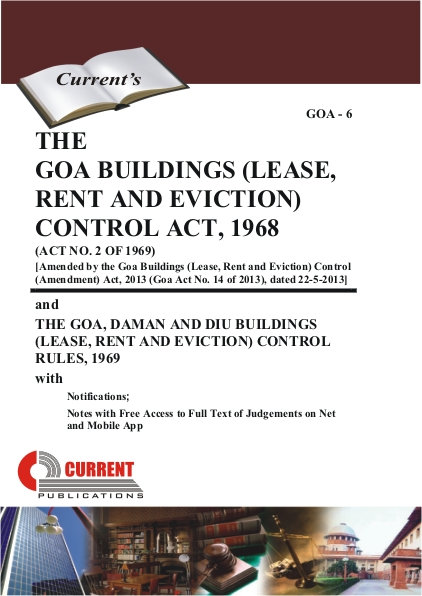 THE GOA BUILDINGS (LEASE, RENT AND EVICTION) CONTROL ACT, 1968