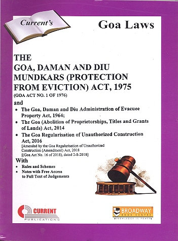 THE GOA, DAMAN AND DIU MUNDKARS (PROTECTION FROM EVICTION) ACT, 1975