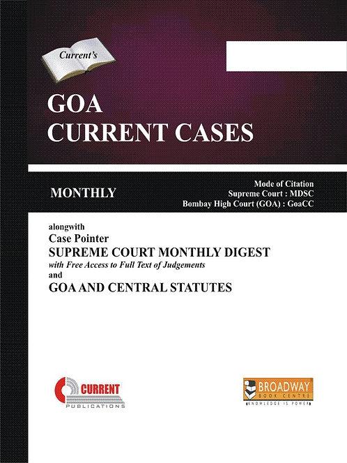 Goa Current Cases