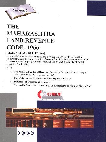 THE MAHARASHTRA LAND REVENUE CODE, 1966