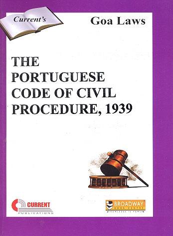 THE PORTUGUESE CODE OF CIVIL PROCEDURE, 1939