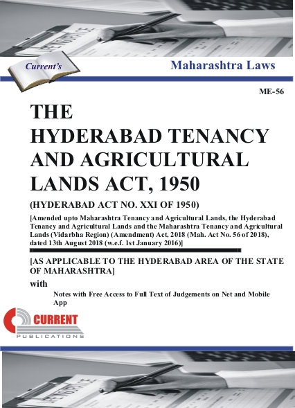 THE HYDERABAD TENANCY AND AGRICULTURAL LANDS ACT, 1950