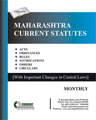 Maharashtra Current Statutes