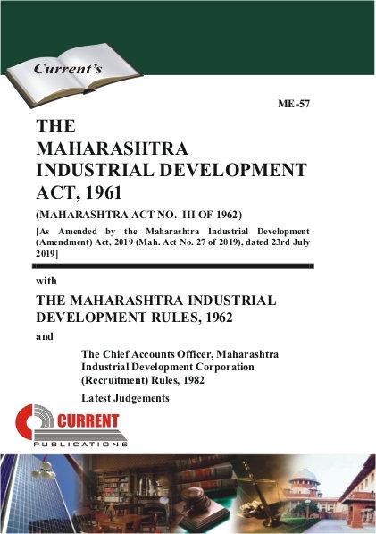 THE MAHARASHTRA INDUSTRIAL DEVELOPMENT ACT, 1961
