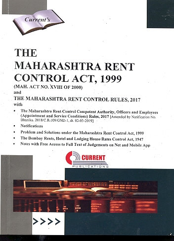 THE MAHARASHTRA RENT CONTROL ACT, 1999