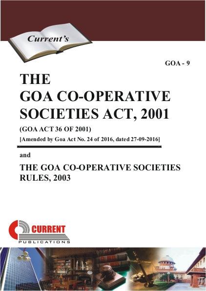 THE GOA CO-OPERATIVE SOCIETIES ACT, 2001